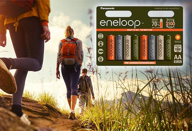 Limitowana kolekcja eneloop EXPEDITION