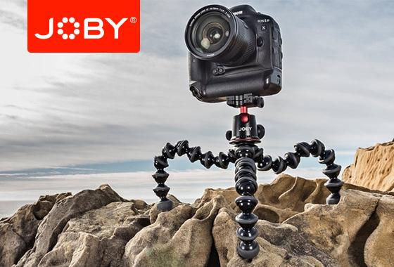 JOBY inspiruje fotografów i robi to dobrze! Nowe produkty w ofercie CSI.